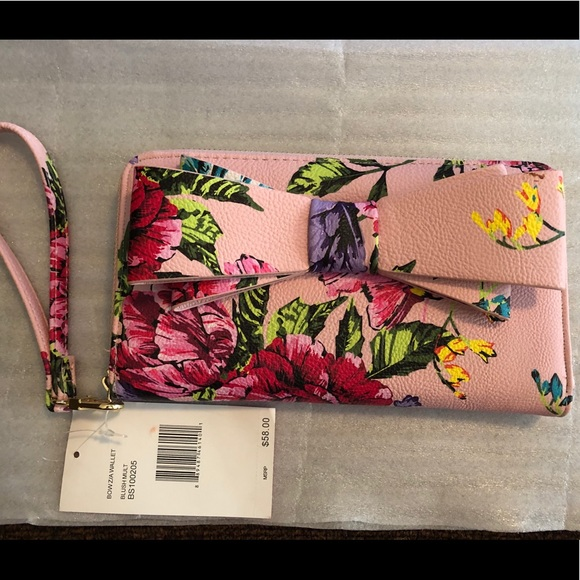 Betsey Johnson Handbags - Large Betsy Johnson wristlet